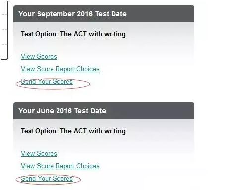 ACT考试送分流程
