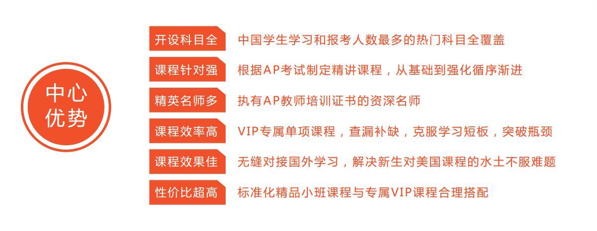上海新航道AP培训优势