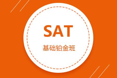SAT基础铂金班